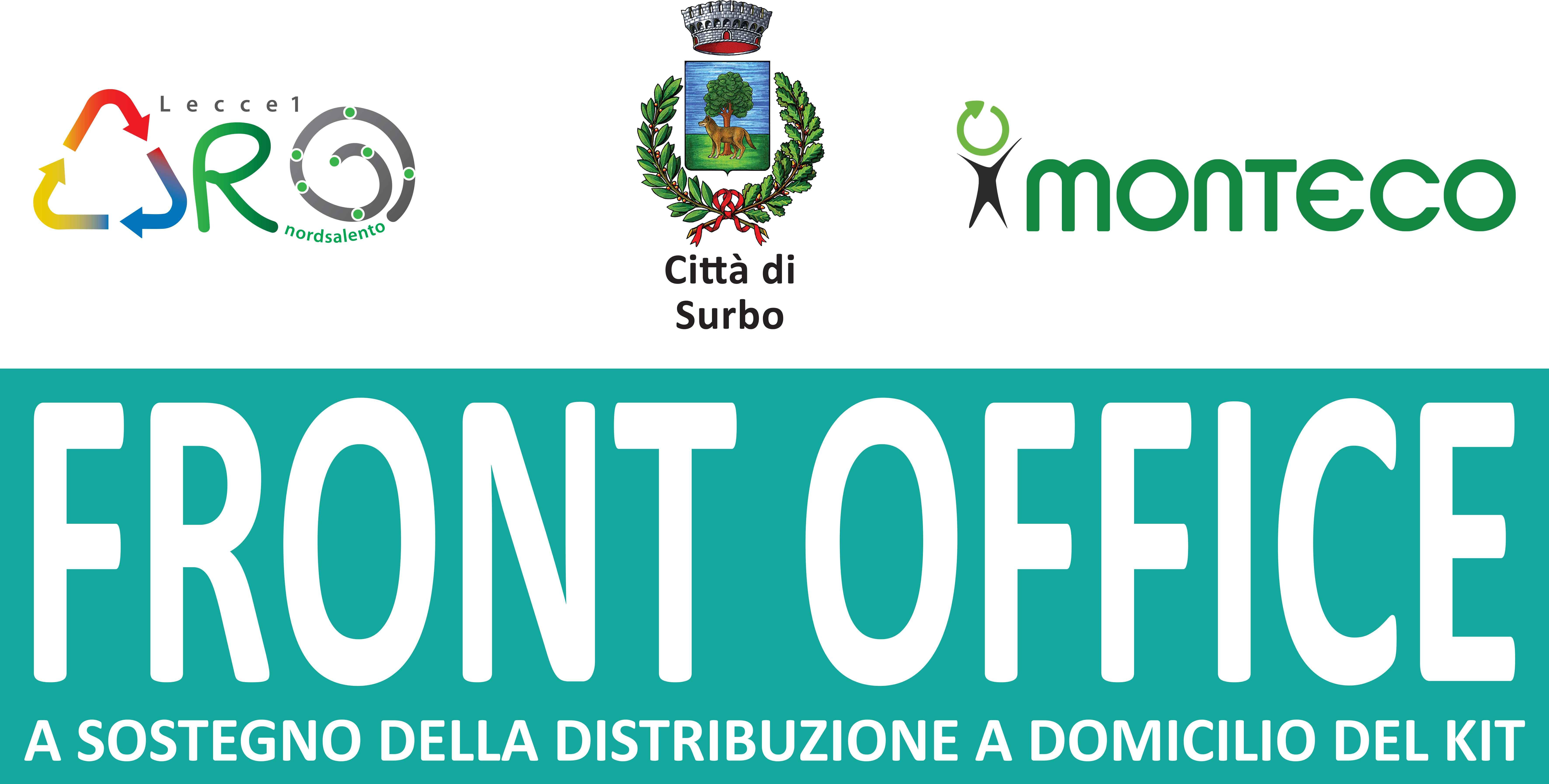 Surbo. Orari di apertura del Front Office a supporto della distribuzione porta a porta del kit di raccolta