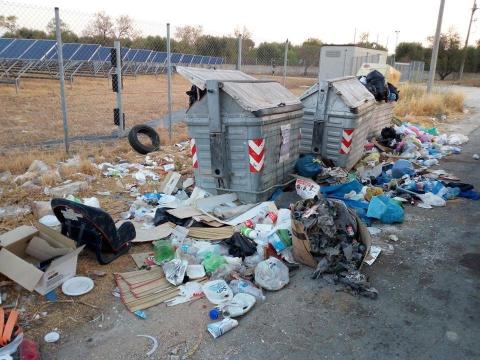 Discariche abusive, sindaco di Francavilla Fontana fa intervenire la Monteco