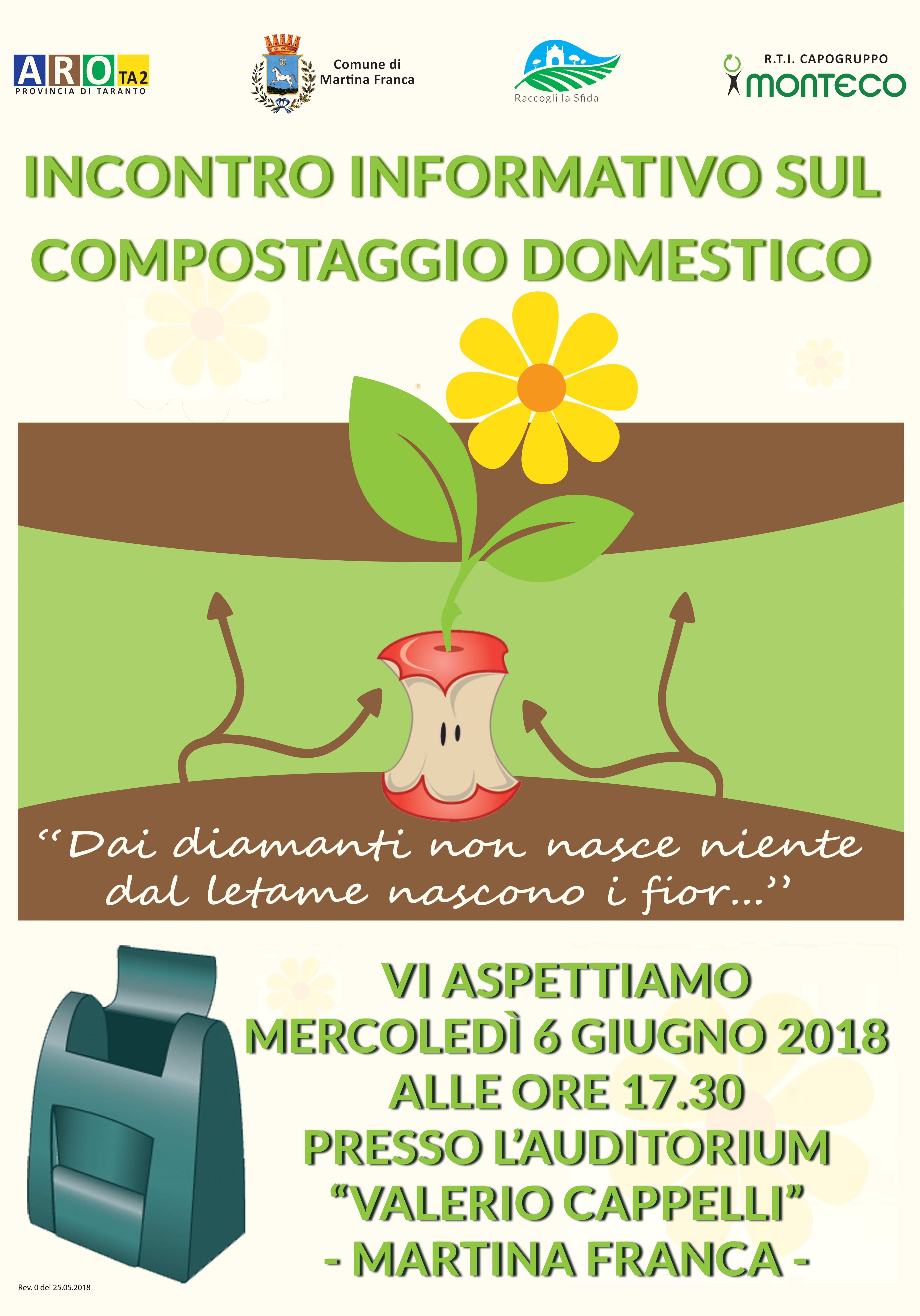 Martina Franca - Incontro informativo sul compostaggio domestico