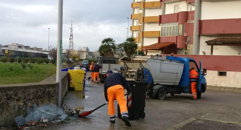 """Via i rifiuti dalle strade in zona San Giovanni Battista: prosegue """"Quartieri Puliti"""""""